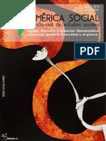 Iberoamérica Social Nº 3 Luchas Derechos y Espacios. Iberoamerica Repensada Desde La Diversidad y El Genero
