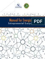 Manual for Energyzing Entrepreneurial Ecosystem