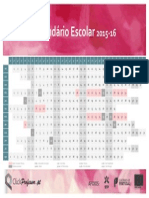 Calendário ClickProfessor Rosa