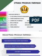 registrasi Produk Farmasi 2015