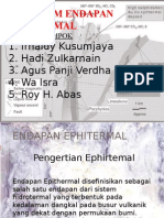 Sistem Endapan Epithermal Kelompok II