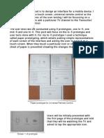Blog 4-User Test Design