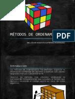 Metodos de Ordenamiento