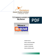 Pantaloon Retail India-E-Commerce project on Big Bazaar