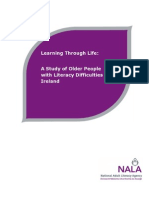 Learning Through Life - A Study of Older People With Literacy Difficulties in Ireland