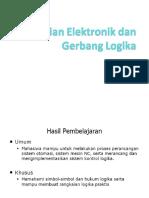 3) Rangkaian Elektronik Dan Gerbang Logika