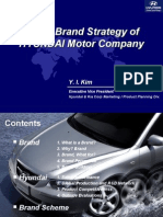 Global Brand Strategy of Hyundaei