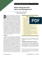 Review Gastroparesis Diabetikum