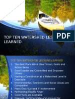 water resources management report summary