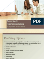 Presentación Hipertension Arterial