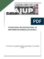APOSTILA PAJUP - Apostila Para Formação Básica - 2010
