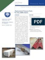Bps-02 Replacement of Pressure Parts - OEM Boiler