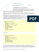 DHCP Brief
