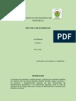 Mecánica de Materiales Unidad Idf
