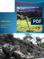 Deslizamientos en Coluviones