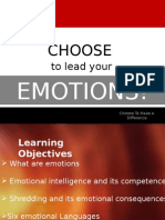 Choose to Lead Your Emotions