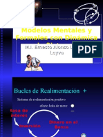 Modelos Mentales y Formales Con Dinamica de Sistemas