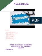 Penyakit Thalassemia