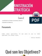 Adminis Traci One Strategic a Grupo 3