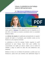 Conoce Workana, la plataforma de trabajo freelance latinoamericana