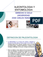 Paleontologia y Entomologia