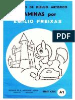 Cuaderno Nº a1 Serie Azul - Dibujo Punteado