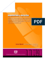 Inquisición y Derecho.