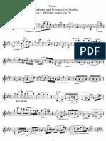 Mazas - 75 Melodious & Progressive Studies- (Violin)- Book III