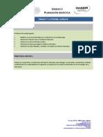 Unidad 2. El Derecho en La Informatica-Planeación Didáctica