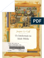 80410265 LE GOFF Jacques Os Intelectuais Na Idade Media