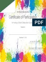 GCD Host Certificate