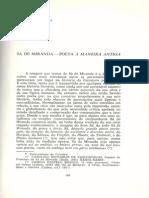 Joaquim Correia - Sá de Miranda, poeta à maneira antiga