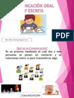 Presentación Comunicacion Oral y Escrita