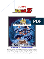 Gurps - Dragon Ball z