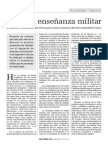 Sobre La Enseñanza Militar,Eladio Baldovin Ruiz