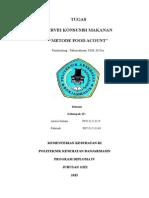 Metode Pencatatan Food Account