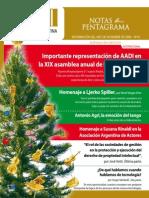 Asociacion Argentina Interpretes, Boletín Nro 16
