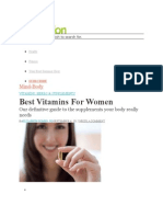 Article About Vitamins