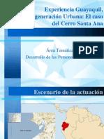 Estrategia Urbana Cerro Santa Ana