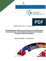 Multilevel Regulation - Seance1
