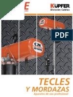 Catalogo Tecles de izajes y Electricos