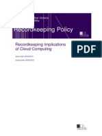 Cloud Computing Policy
