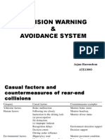Collision warning and avoidance system