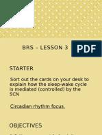 brs - lesson 3
