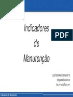 Indicadores de Manutenção - FUNCEFET