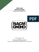 Tire Chain Spec 92805