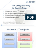 Boost.asio - Network Programming
