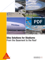 Brochure Solutions for Stadiums