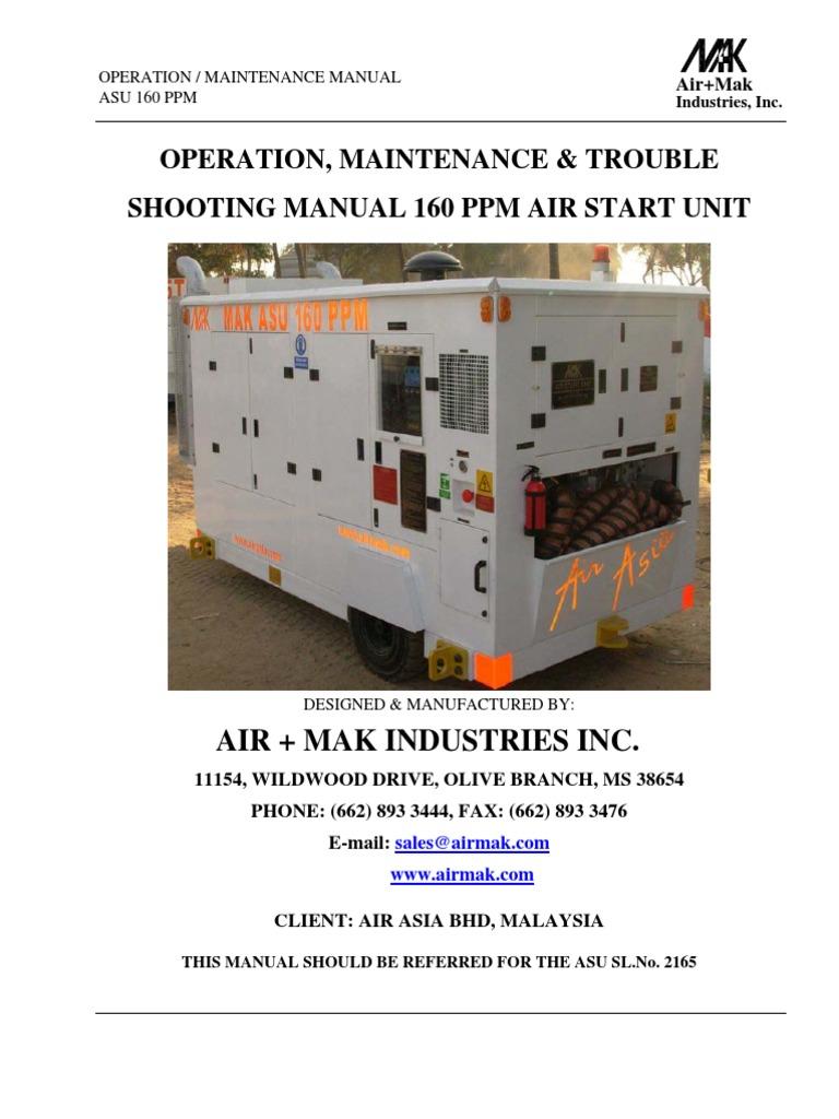 Asu 160 Ppm 2165 Technical Manual Switch