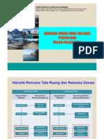 Pedoman Rencana zonasi rinci wilayah pesisir dan pulau Pulau kecil